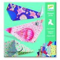 Creeaza origami animale mari Djeco