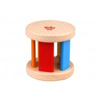 Jucarie  bebelusi roller lemn Tooky Toy