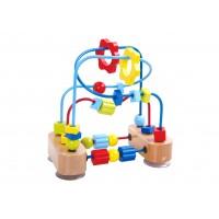 Labirint margele pentru dexteritate Tooky Toy