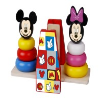Turnuri de stivuire in echilibru Minnie si Mickey