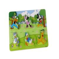 Puzzle lemn personaje Disney