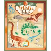 Set creativ transfer dinozauri Djeco