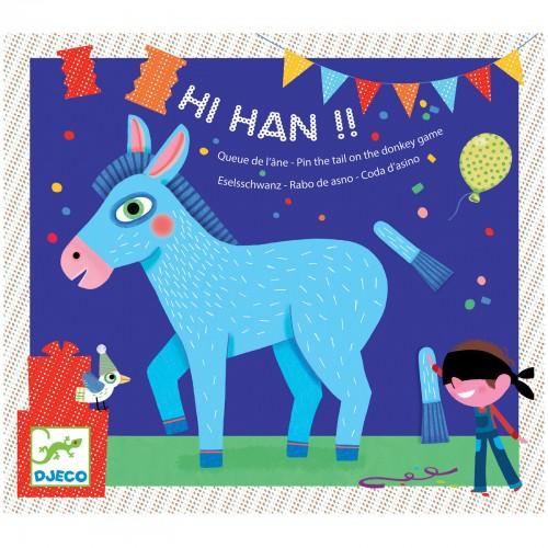 Joc Hi Han pune coada la magarus Djeco