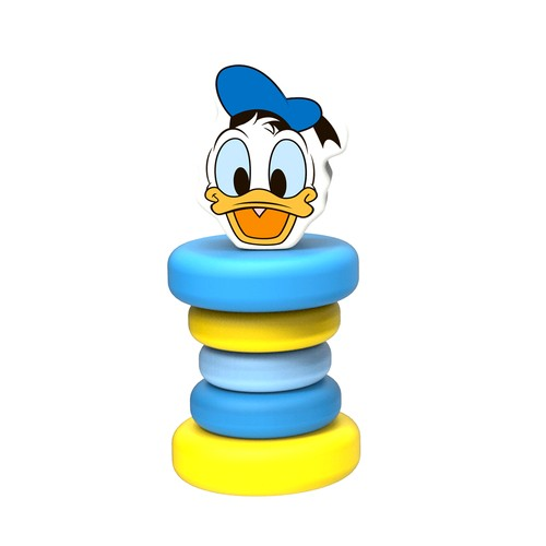 Donald ratoiul zornaitor jucarie bebe Disney