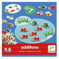 Eduludo joc cu calcule Addition Djeco