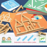 Joc educativ Eduludo Sticks Djeco