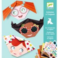 Creeaza origami cu personaje Djeco