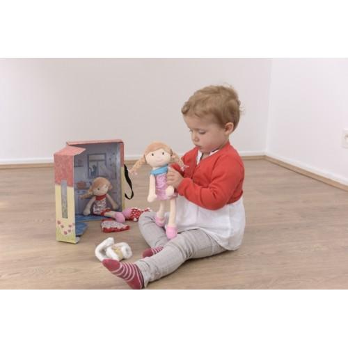 Papusa Olivia marioneta teatru cu accesorii Egmont Toys