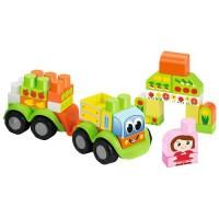 Camion cu fructe set Abrick Ecoiffier