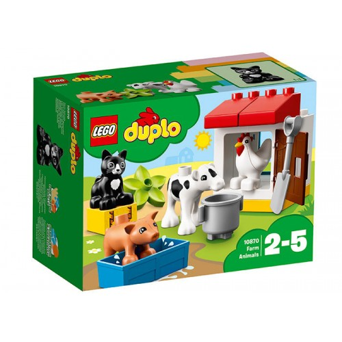 Lego Duplo - Animalele De La Ferma