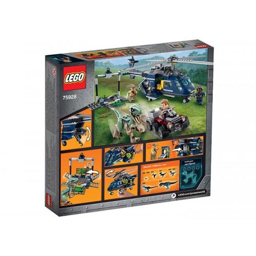 Lego Jurassic World - Urmarirea Elicopterului Albastru