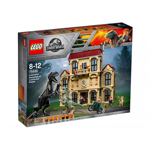 Lego Jurassic World - Furia Indoraptorului Pe Mosia Lockwood