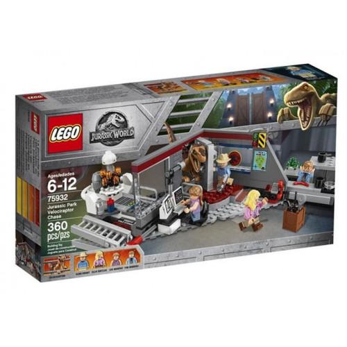 Lego Jurassic World - Urmarirea Velociraptorului