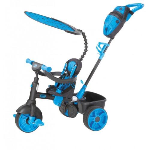 Tricicleta 4 in1 albastra Neon Little Tikes