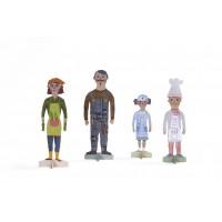 Familia Paper figurine Londji