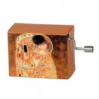 Flasneta Arabesque pictura Gustav Klimt Sarutul Fridolin