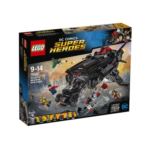 Lego Super Heroes - Flying Fox: Atacul Aerian Cu Batmobilul