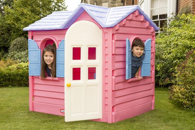 Casuta roz de vacanta pentru copii Little Tikes
