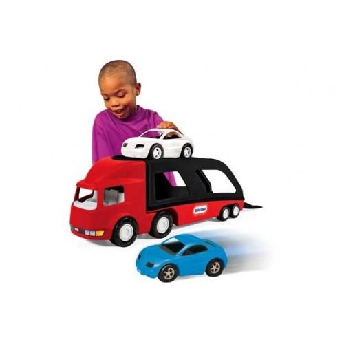Transportor masini rosu Little Tikes