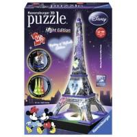 Puzzle 3D turnul Eiffel luminos 216 piese
