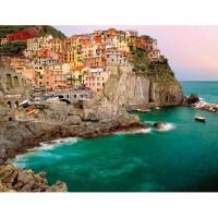 Puzzle Cele Cinci Pamanturi - Italia, 2000 Piese