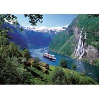 Puzzle Fiord Norvegian, 1000 Piese