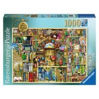Puzzle libraria bizara 2, 1000 piese Ravensburger