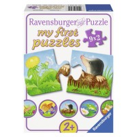 Puzzle Animale De Gradina, 9X2 Piese