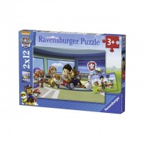 Puzzle patrula Catelusilor 2X12 piese Ravensburger