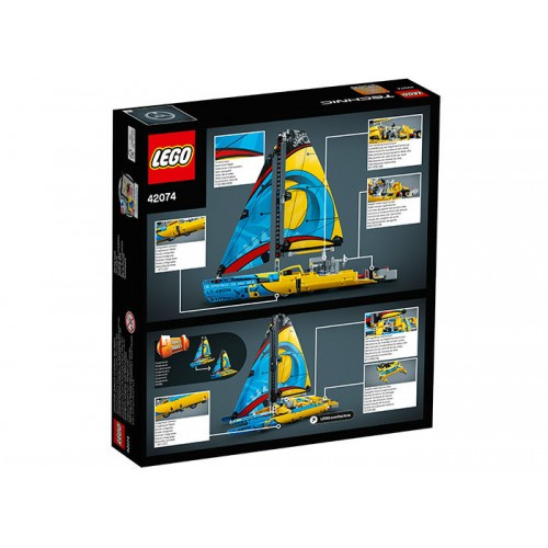 Lego Technic - Iaht De Curse (42074)