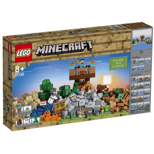 Lego Minecraft - Cutie De Crafting 2.0  (21135)