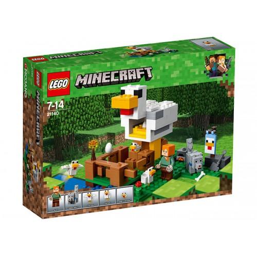 Lego Minecraft - Cotetul De Gaini (21140)