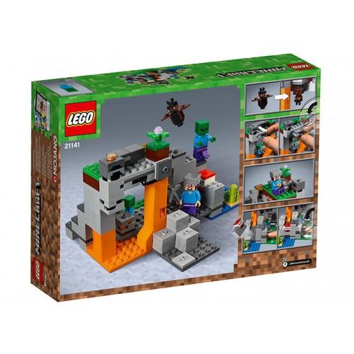 Lego Minecraft - Pestera Cu Zombi (21141)