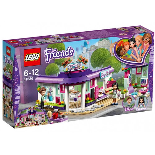 Lego Friends - Cafeneaua De Arta A Emmei (41336)