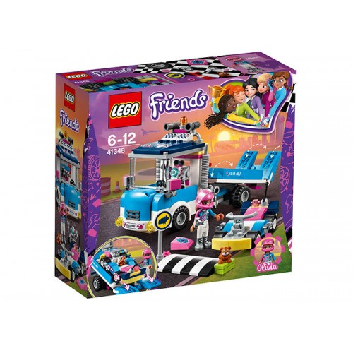 Lego Friends - Camion De Service Si Intretinere (41348)