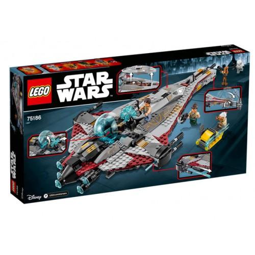 Lego Star Wars - Varful De Sageata  (75186)