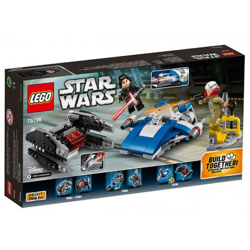 Lego Star Wars - A-Wing Contra Tie Silencer Microfighters (75196)