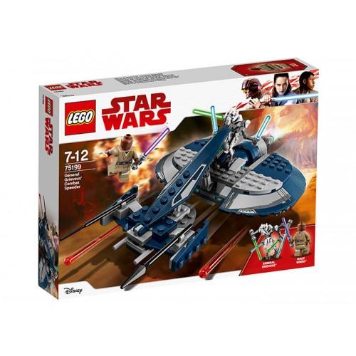 Lego Star Wars - Speeder-Ul De Lupta Al Generalului Grievous (75199)