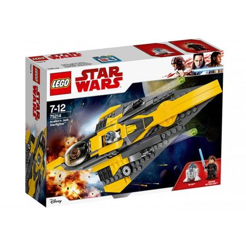 Lego Star Wars-Jedi Starfighter Al Lui Anakin (75214)