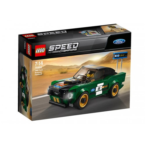 Lego Speed Champions - 1968 Ford Mustang Fastback (75884)