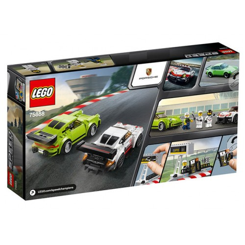 Lego Speed Champions - Porsche 911 Rsr Si 911 Turbo 3.0 (75888)