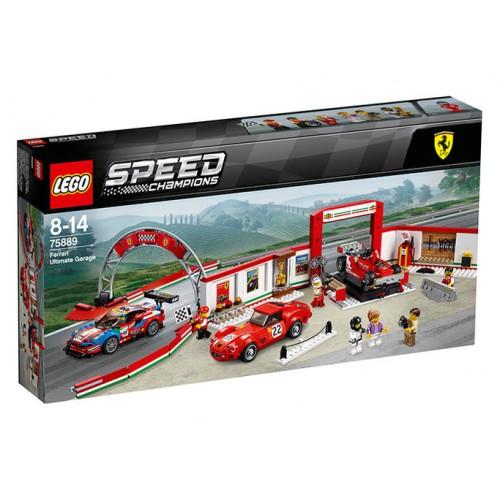 Lego Speed Champions - Garajul Suprem Ferrari (75889)