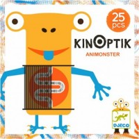 Joc creativ magnetic Kinoptik animonsters Djeco