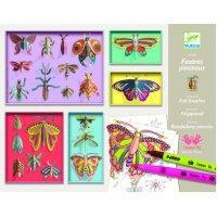 Atelier creativ curiozitati fluturi Djeco