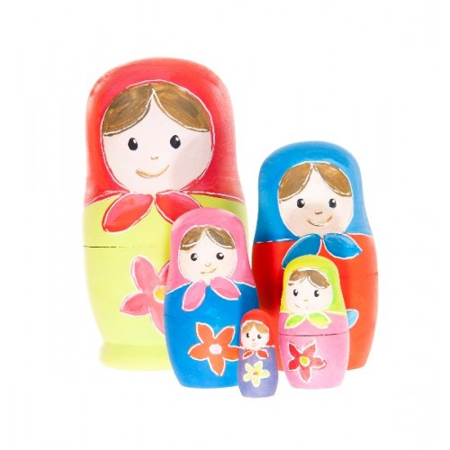 Set de pictat papusi matrioshka Egmont