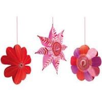 Decoratie camera cu flori Djeco