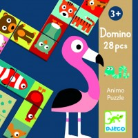 Joc Domino animo Djeco