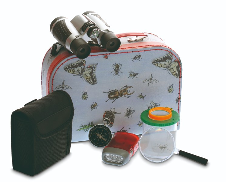 Set explorator cu binoclu si busola Egmont Toys