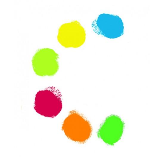 Culori de pictat cu mana 6 buc Djeco