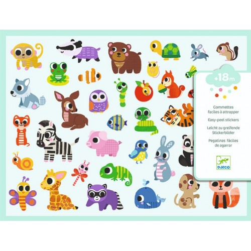 Abtibilduri Baby animals Djeco